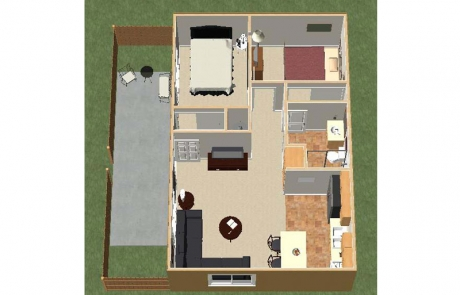 desert dunes floorplan furnished