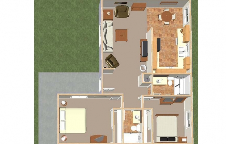 desert springs 2 bd floorplan hesperia apartments