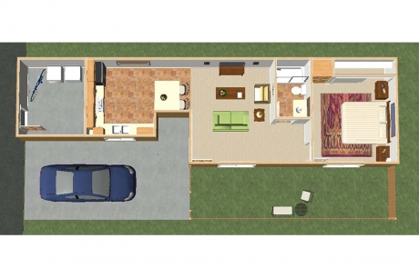 desert winds floor plan 1 bedroom