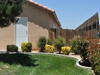 desert hacienda apartments outside