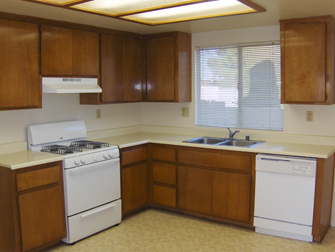 desert terrace apartments kitchen