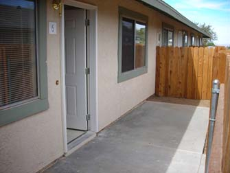 desert dunes apartments patio