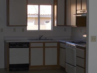 desert villas apartments kitchen