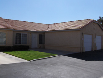 desert villas apartments front entrance