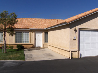 desert villas apartments front