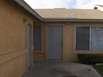 desert winds apartment entrance