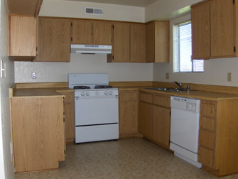 desert springs apartments kitchen