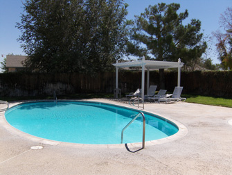 desert rose apartments pool 2