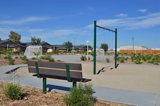 desert luna apartments playground area